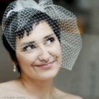 Wedding headpieces for short hair