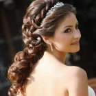 Curly hairstyles updo