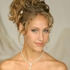 Curly hairstyles updos