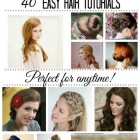 Easy hair tutorials for long hair