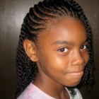 Hairstyle for braids