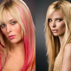 Hairstyles and color for long hair