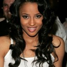 Hairstyles for long hair black women