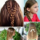 Hairstyles for long hair for girls