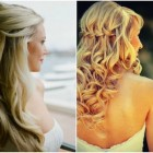 Half up hairstyles for long hair