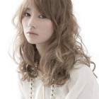 Japanese curly hairstyles