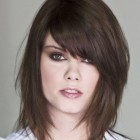 Layered medium length hairstyles with bangs