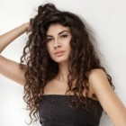 Long and curly hairstyles