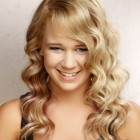 Long curly wavy hairstyles