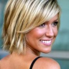 Medium and short hairstyles
