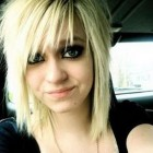 Medium emo hairstyles for girls