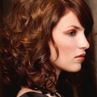 Medium hairstyles for curly hair