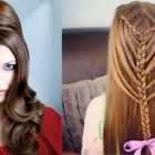 New hairstyles for long hair for girls
