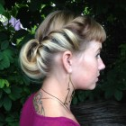 Pin up girl hairstyles for long hair