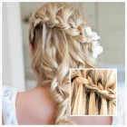 Prom hairstyles for long blonde hair