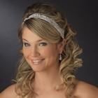 Prom hairstyles with headbands
