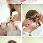 Prom updo hairstyles medium length hair