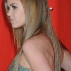 Quick hairstyles for long straight hair