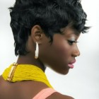 Short hairstyles for women black hair