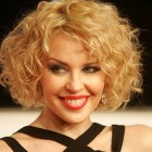 Short length curly hairstyles