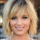 Shoulder length trendy haircuts