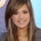 Side fringe hairstyles for long hair