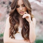 Simple hairstyles for long curly hair
