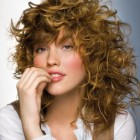 Stylish curly hairstyles