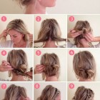 Tutorial for hairstyles