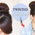 Bun hairstyles for long hair