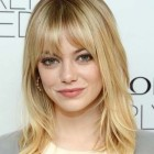 Medium hairstyles with fringe