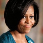 Michelle obama haircut