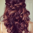 Prom hairstyles for curly hair