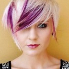 Short hairstyles and colours