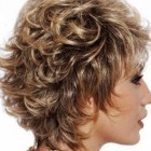 Short styles for curly hair