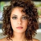 Curly medium length hairstyles 2020