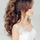 Hairstyle for bride 2020