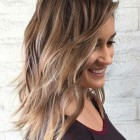 Medium length layered hairstyles 2020