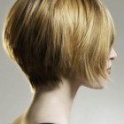 Back view of short hairstyles