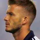 David beckham short hairstyles
