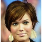 Round face short haircuts