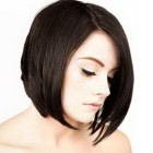 Short dark haircuts