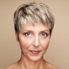 Short haircuts women over 40