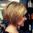 Stacked short haircuts