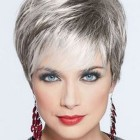 Very short hairstyles for older women