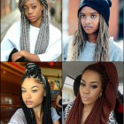 2017 black braided hairstyles