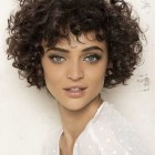 2017 short hairstyles for curly hair