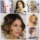 2017 trendy short hairstyles