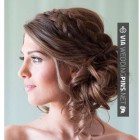 Bridesmaid updos 2017