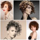 Hairstyles for short curly hair 2017